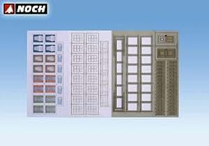 Noch - 56420 - Modélisme Ferroviaire - Fenêtres Et Portes Maison - Laser-Cut