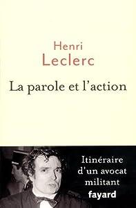 """Afficher """"La Parole et l'action"""""""