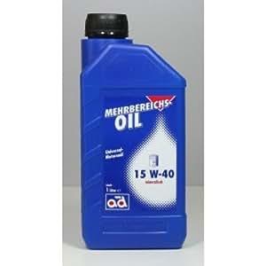 Ad mehrbereichsöl 15W40 1 l d'huile de moteur 15W - 40, 505.00 501.01: vW