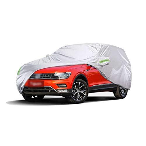 CXZS-Autoabdeckung Kompatibel mit Volkswagen Tiguan Car Regenschutz Autotuch Sonnenschutz Car Cover (größe : 2018)