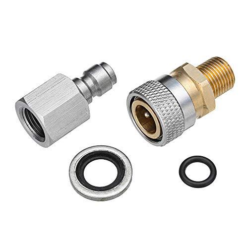 Generic 1/8 Zoll BSP Schnellspanner Kupplung Adapter Kit für Luftgewehre PCP