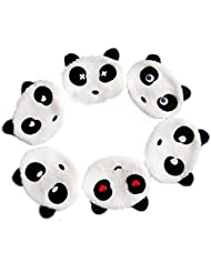 2015GGG Panda Design no-flu en peluche anti-poussière Visage Bouche Masque protection aléatoire Lot de 10