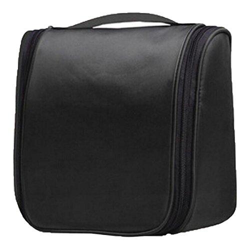 Jia Qing Sacchetto Cosmetico Di Corsa Di Viaggio Di Nylon Multifunzionale Di Viaggio Di Viaggio Impermeabile Sacchetto Cosmetico Di Grande Capacità Black