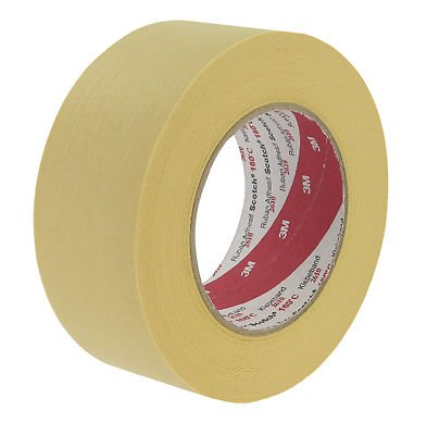 4-rolls-of-scotch-3m-19mm-high-performance-high-temperature-paper-masking-tape-2610-solvent-and-mois