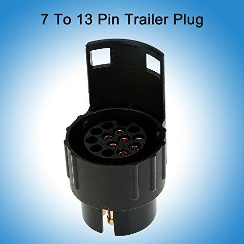 7/13 poli rimorchio spina rimorchio smerigliato cablaggio connettore 12V barra di traino traino Plug