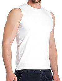 3er Pack Slim Fit Muscleshirt - Herren Body Fit Sleeveless T-Shirt - 3 Farben wählbar - 100% supergekämmte Baumwolle in Premium Qualität - Highest Standard - original CELODORO Exclusive