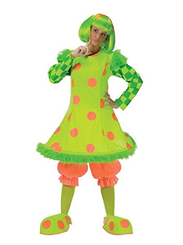 Clown Women's Costume One Size (Clown Lolli Kostüme)