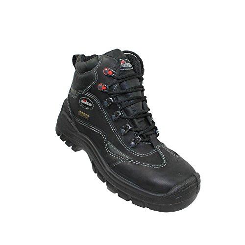 TuF goretex s3 wR sRC chaussures berufsschuhe businessschuhe chaussures de trekking (noir) Noir - Noir