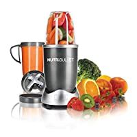 NutriBullet 8-Piece High-Speed Blender/Mixer System, 600 watts, Gray