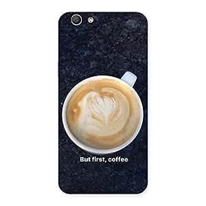 Neo World Cappuccino Coffee Back Case Cover for Oppo F1s | Oppo F1s Cases and Covers | Oppo F1s Back Case | Oppo F1s Back Cover | Premium Quality Matte Finish