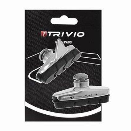 Trivio Bremsbeläge 455C, Satz Rennrad, 53mm, passend für Campagnolo
