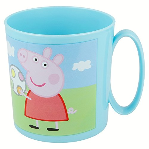 Joy Toy 748604 - Peppa Pig - Taza para microondas (350 ml) 8 x 8 cm