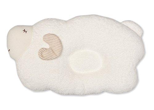 Babykopfkissen, Schmusekissen aus Biobaumwolle Traumschäfchen für süße Träume