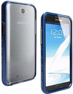Bumper en métal Bleu pour Samsung Galaxy Note 2
