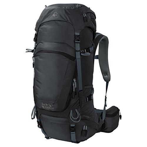 Jack Wolfskin Highland Trail 48 Wandern Outdoor Trekking Rucksack, Phantom, ONE Size