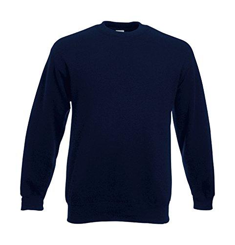 feuerwehr sweatshirt Feuerwehr Sweat-Shirt navy mit Aufdruck in neongelb oder reflexsilber (XL, neongelb)