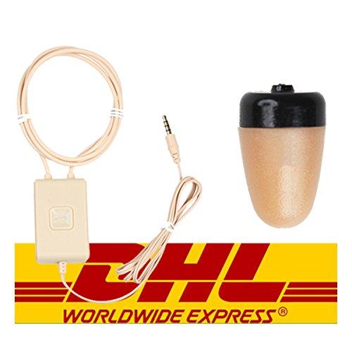 Kleine Headset unsichtbar kabellos mit Halskette Induktion