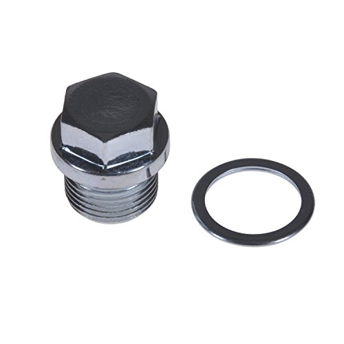 febi bilstein ADS70101 Ölablassschraube M20 x 1,5; 26 mm mit Dichtring, 1 Stück Tribeca Ring