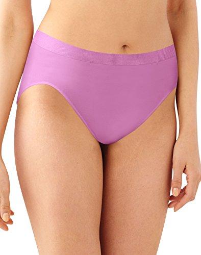 Seamless Hi-cut-panty (Bali Comfort Revolution Women`s Microfiber Seamless Hi Cut Panty - Best-Seller)