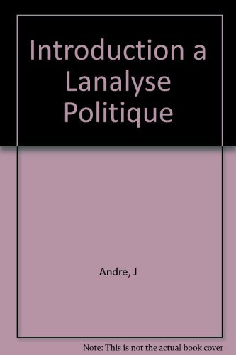 INTRODUCTION A L'ANALYSE POLITIQUE