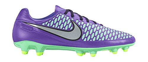 Nike Magista Onda Fg, Chaussures de Running Compétition Homme Morado / Plateado / Verde (Hypr Grp / Mtllc Slvr-Ghst Grn-G)