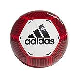 Adidas STARLANCER VI, Pallone da Calcio Uomo, White/Active Red/Black, 5