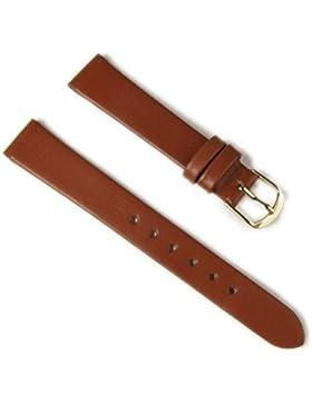 Eulit Uhrenarmband Leder Dolly Ersatzband braun 14mm 23804S