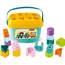 Popsugar Baby Blocks Toy Screening Color and Shape Bucket