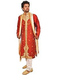 Apparelsonline Men's Silk Sherwani
