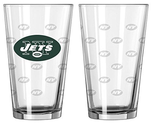 NFL-Pint-Glas (2er-Set), NFL New York Jets