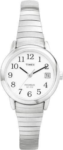 Timex Damen-Armbanduhr Silber Edelstahl T2H371D7