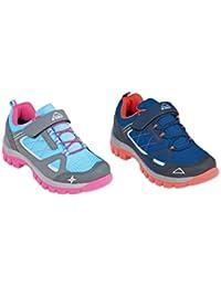 Mckinley Multi-Schuh Maine Aqb Jr - anthr.blue l./pink