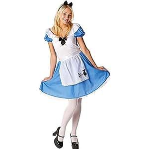 Rubie's Official Ladies Alice in Wonderland, Alice Classic Adult Costume - Medium