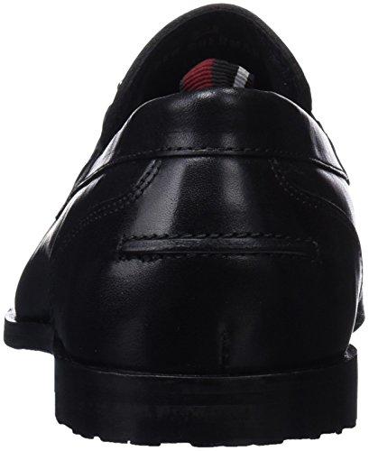 Ben Sherman Herren Rue Slipper Black (Black Burnish)