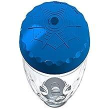 Steinbach 60055 - Lampada per spettacolo di luci subacqueo, 4 LED, con dispositivo di arresto automatico, colore coperchio assortito