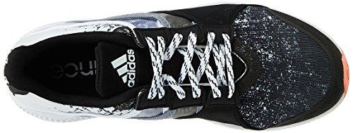 adidas Gymbreaker Bounce, Chaussures de Sport Femme, Citronier Rouge (rayon de soleil / noir essentiel / gris)