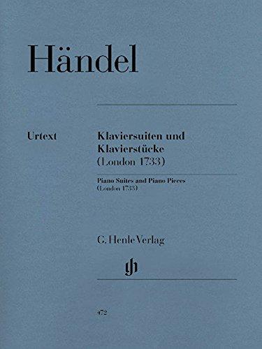 Klaviersuiten und Klavierstücke (London 1733); Klavier 2 ms