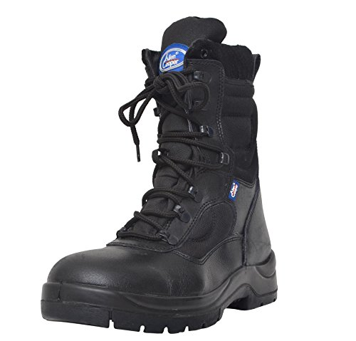 Allen Cooper AC 1228 Combat Safety Boot, 8 UK, Black