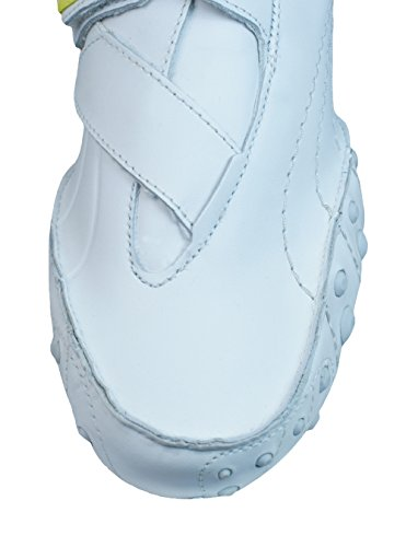 Puma Amoko 2 Cuir Femmes Fitness Baskets Blanc