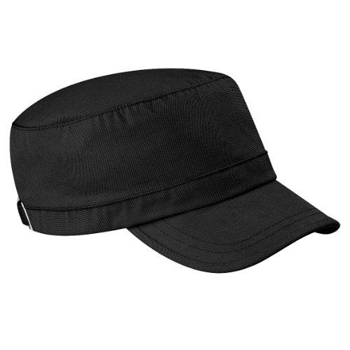 Beechfield - Cappellino 100% Cotone - Uomo (Taglia unica) (Nero)