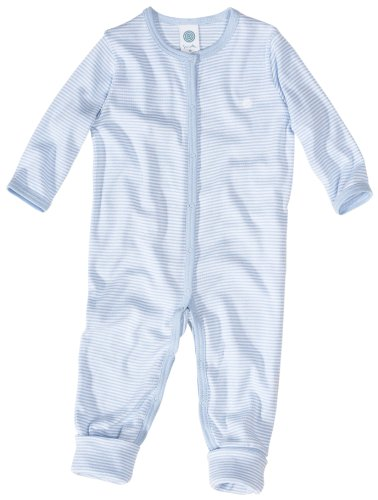 Sanetta 220454 Baby - Jungen Babykleidung/ Overalls, Gr. 68, Blau