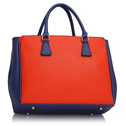 Xardi London, Borsa tote donna Blue/Orange