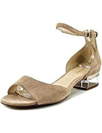 3dc9f146a64 Nine West Womens Volor Open Toe Casual Ankle Strap