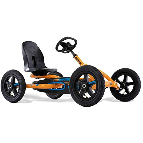 Berg Buddy B-Orange Pedalkart, Unisex, Kinder, Einheitsgröße (Größe Hersteller: 0)