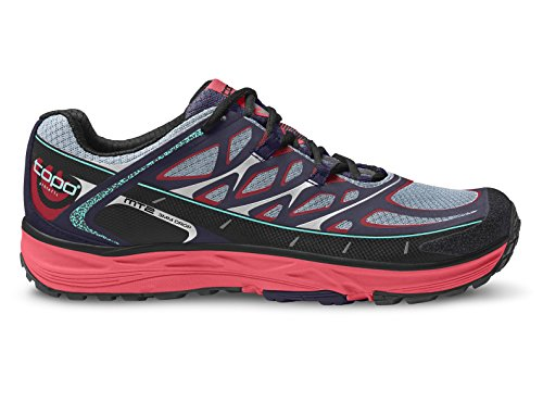 Topo Athletic mt-2Trail Running Shoe-Donna, Donna, Indigo/Fuchsia