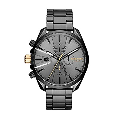 Diesel Men's Chronograph Quartz Watch with Stainless Steel Strap DZ4474