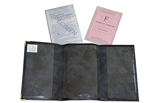 MAROK-INERIE Fahrausweishülle schwarz schwarz