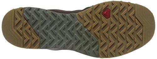 Salomon L38309200, Chaussures de Randonnée Homme, Rouge Marron