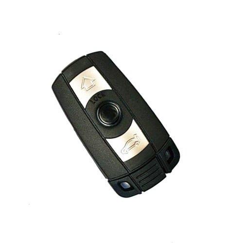 Jurmann Trade GmbH® BMW ks11aa 1x Ersatz Schlüsselgehäuse - 3 Taste Autoschlüssel Klappschlüssel mit Rohling Schlüssel Fernbedienung Funkschlüssel Neu Gehäuse ohne Elektronik