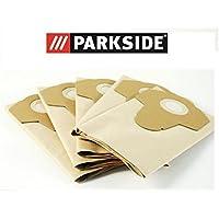 Parkside PNTS 1300 C3 Lot de 5 sacs d'aspirateur humides pour aspirateur 20 l IAN 102791